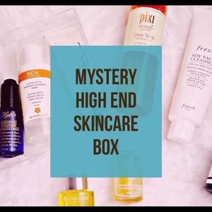 Mystery High End Skincare Box Worth at Least $50